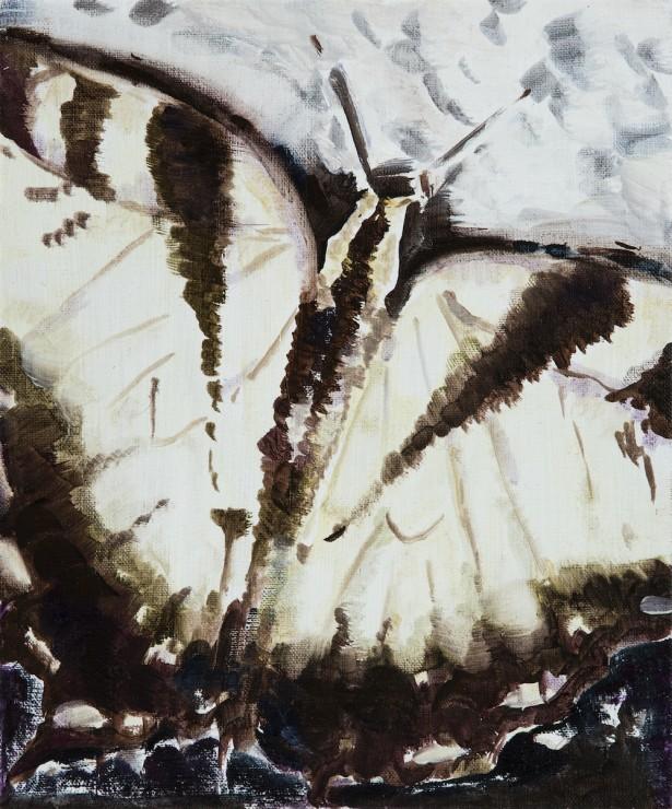 Feeling, oil on canvas, 30x25, 2017