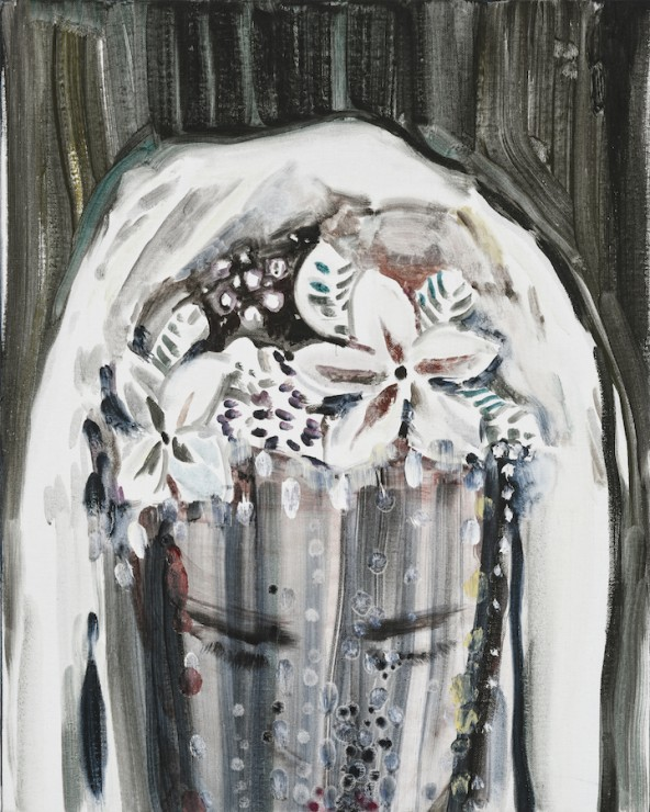 She's got a secret, oil on canvas, 50x40, 2017