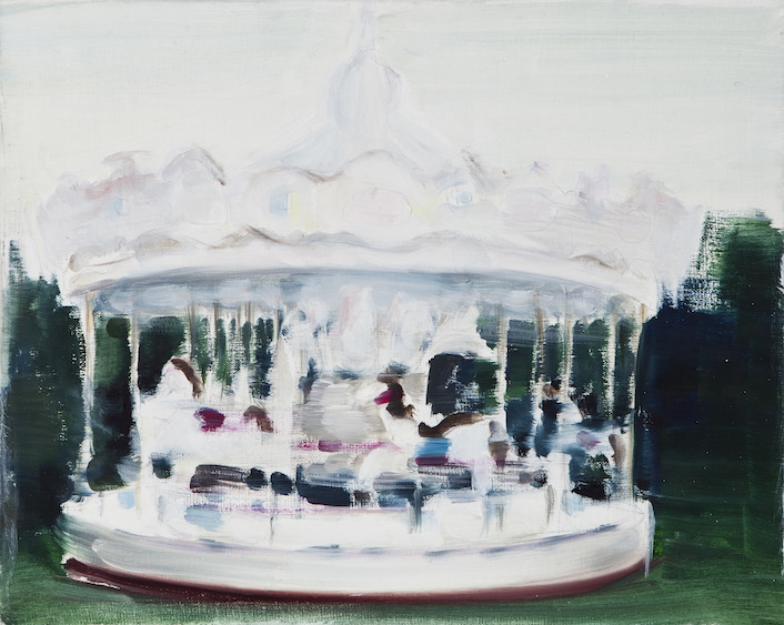 Carousel of wonders, oil on canvas, 50x40, 2014