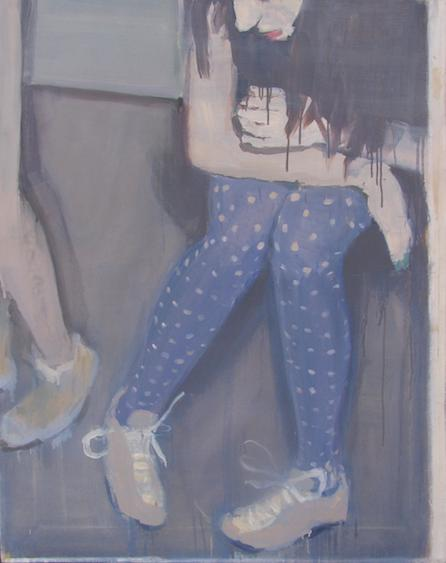 On weekdays, oil on canvas, 92x72, 2011