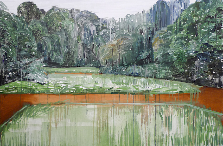 Landscape, oil on canvas, 130x195, 2012