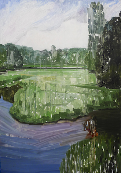 Landscape IV, oil on canvas, 162x114, 2012