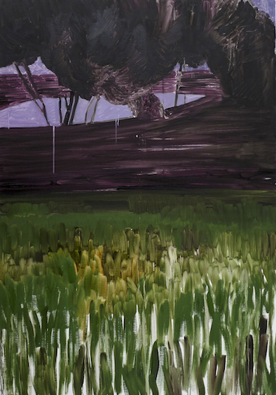 Landscape III, oil on canvas, 162x114, 2012
