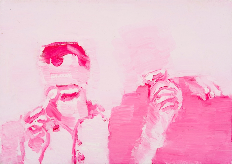 Anonymous, oil on canvas, 37x25, 2011