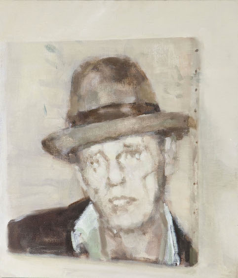 Beuys, oil on canvas, 50x58, 2013