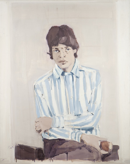Jagger, oil on canvas, 100x80, 2012