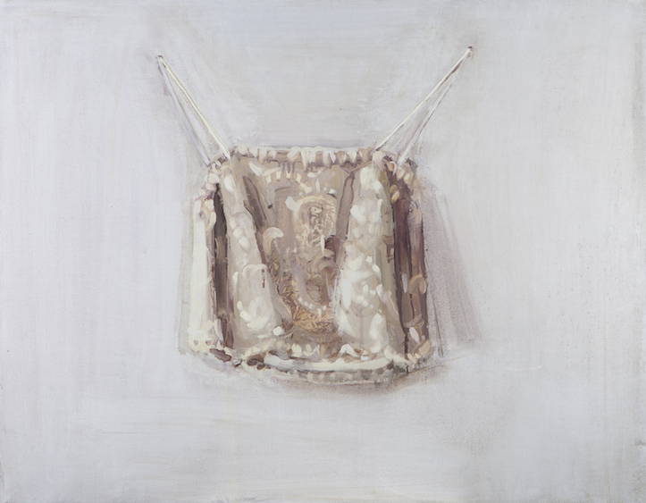 Garment, oil on canvas, 90x70, 2013
