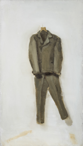 Joseph Beuys, oil on canvas, 70x40, 2012