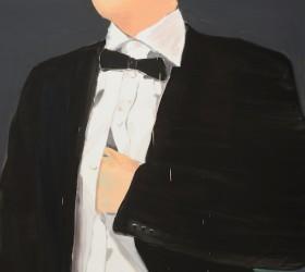 Love triangle, oil on canvas 155 x140 cm, 2013