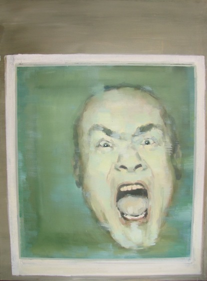 Portrait of Damien Hirst, oil on canvas, 60x80, 2012