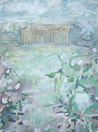 Eyewitness, oil on canvas, 135x90, 2012