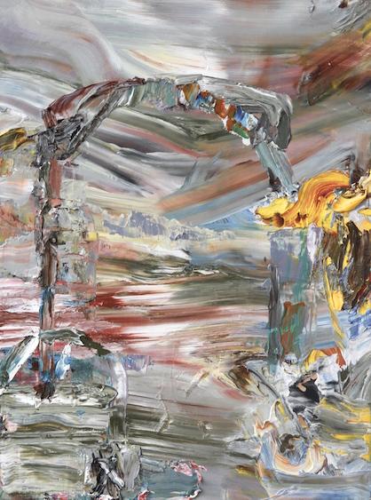 Interstellar, oil on canvas, 36x28, 2014