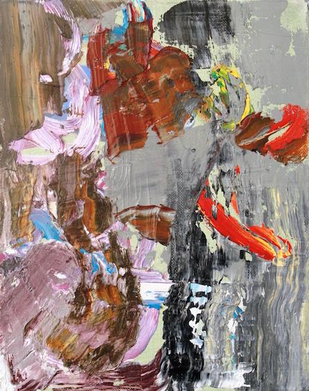 M. J. Butterflies, oil on canvas, 29x21, 2014