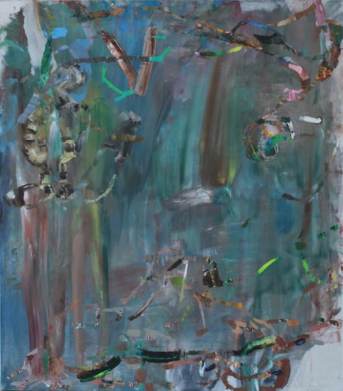 Victoria, oil on canvas, 160x140,  2014