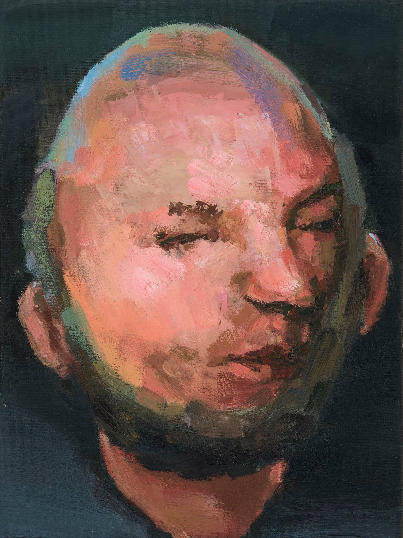Apostle II, oil on canvas, 40x30, 2018