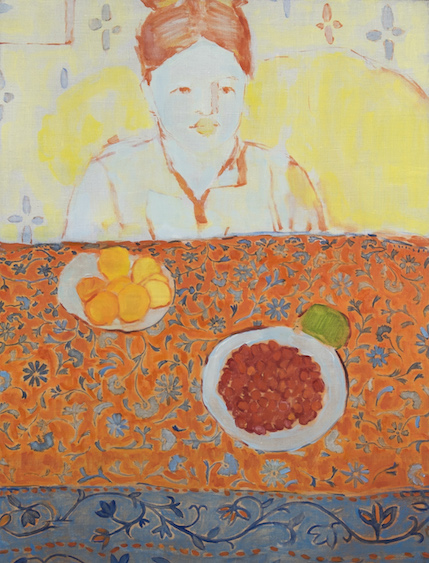 Breakfast with Madam S., oil on canvas, 80x61, 2015