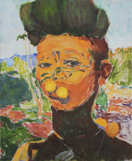 Tom in Martinique 1887, oil on canvas, 80x61, 2015